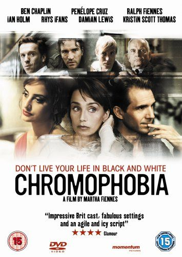 Chromophobia [DVD] (2005): Amazon.co.uk: Ben Chaplin, Penélope Cruz, Ralph Fiennes, Ian Holm, Rhys Ifans, Damian Lewis, Kristin Scott Thomas, Harriet Walter, Anthony Higgins, Archie Panjabi, Michelle Gomez, Clem Tibber, Martha Fiennes, Charlie Savill, Jo Cuppage, Leontine Ruette, Marc Samuelson, Marina Fuentes Arredonda, George Tiffin: DVD & Blu-ray