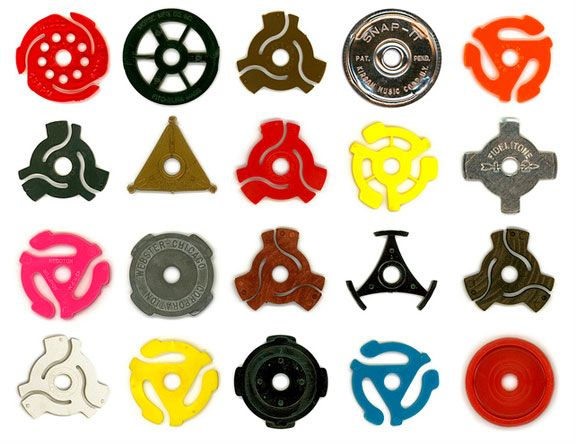 I love 45 adapters. It makes me a little sad that some people have no idea what these are used for.