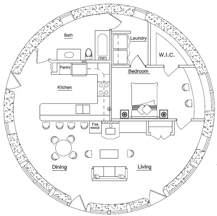 25 best ideas about round house plans on pinterest for Round homes floor plans