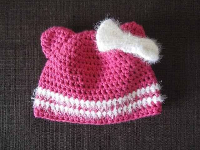 Heute Habe Ich Eine Anleitung Für Eine Süße Baby Mädchenmütze Für