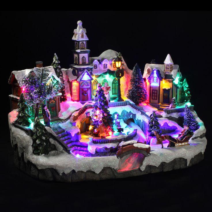 Village de Noël lumineux Rivière Magique : choisissez parmi tous nos produits Village de Noël lumineux