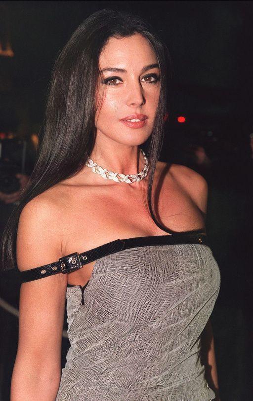 Hot strap belt dress - MonicaBellucci   Monica bellucci