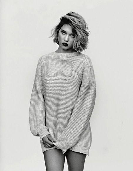 Léa Seydoux shot by Alasdair McLellan