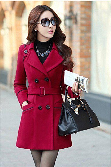 50962c90b008 www.amazon.com Youtobin-Womens-Winter-Dress-Coats-Woolen dp B01K4HWBE6 ...
