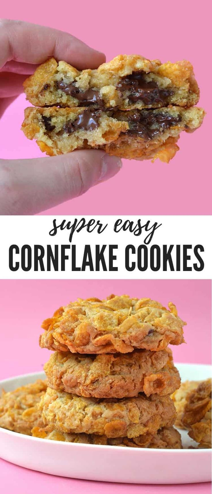 Cornflake Cookies Thick And Chewy Sweetest Menu Recipe Cornflake Cookies Buttery Cookies Cornflake Recipes