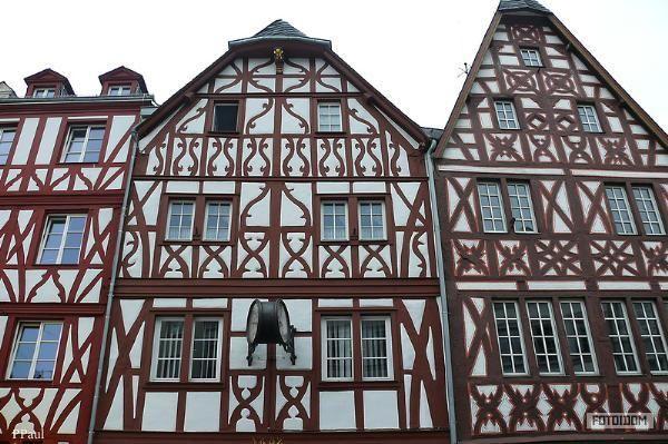 старые немецкие дома - фото #1