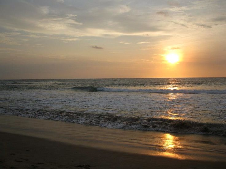 Sunset, Sawarna Beach