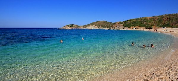 top 5 beaches in Evia, Greece