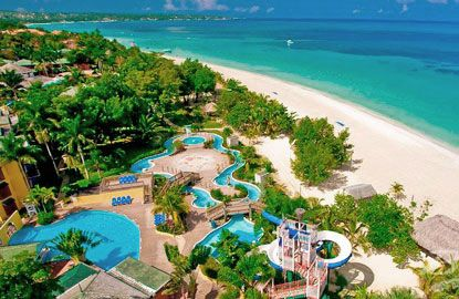 Best Pool: Beaches Negril Resort & Spa  Seven-Mile Beach, Negril, Jamaica  The recently renovated Beaches Negril sits on the glorious expanse of Seven-Mile Beach, but good luck tempting the kids from the pool. Make that three pools and an 18,000-square-foot water park.