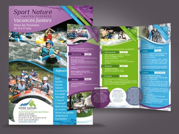 Sport Nature / Communication 2013 / Art direction by Soros Olivier , via Behance