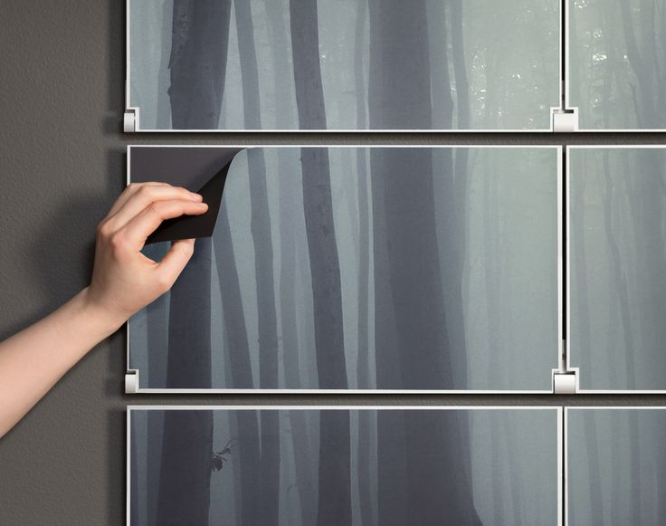 Stainless Steel Kitchen Shelf Pull Down Cabinets For The Disabled Riveli Shelving | Magnetic Artwork Panel Detail ...