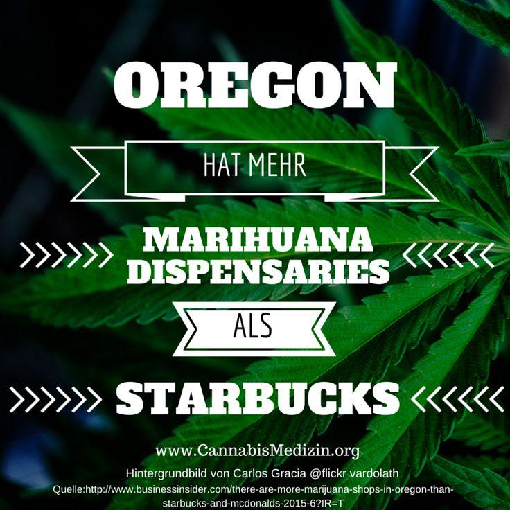 Schon vor der kompletten Legalisierung von Marihuana in Oregon [am 01.07.2015] hatte der Bundesstaat schon mehr Medical Marijuana Dispensaries als Starbucks oder Mc Donalds.  An diesem Beispiel sieht man auf der einen Seite wie viele Arbeitsplätze die Cannabisindustrie schaffen könnte und auf der anderen Seite aber auch wie viele Menschen medizinisches Marihuana konsumieren würden, wenn es denn einfacher verfügbar wäre.