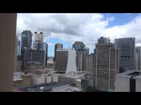 The View from Brisbane City Hall Clock Tower Lookout