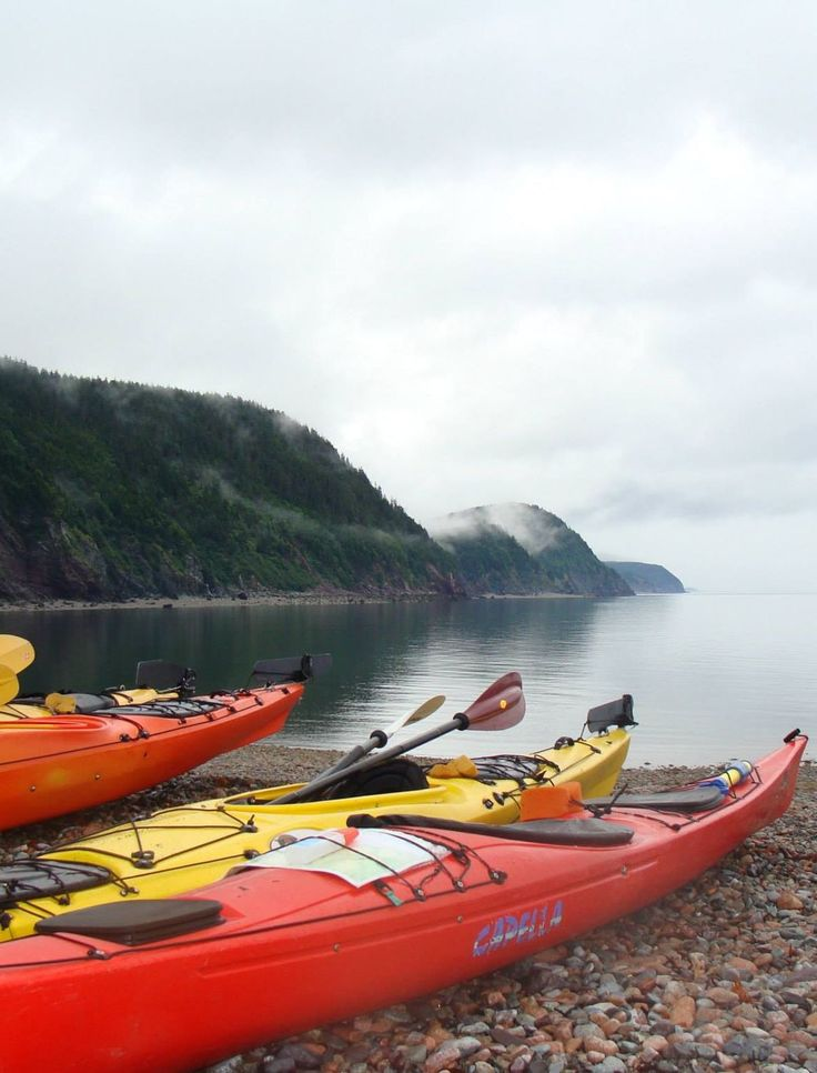 Excitement is just a few paddle strokes away in St. Martins, New Brunswick. There's no better way to experience the rugged beauty of the Bay of Fundy.