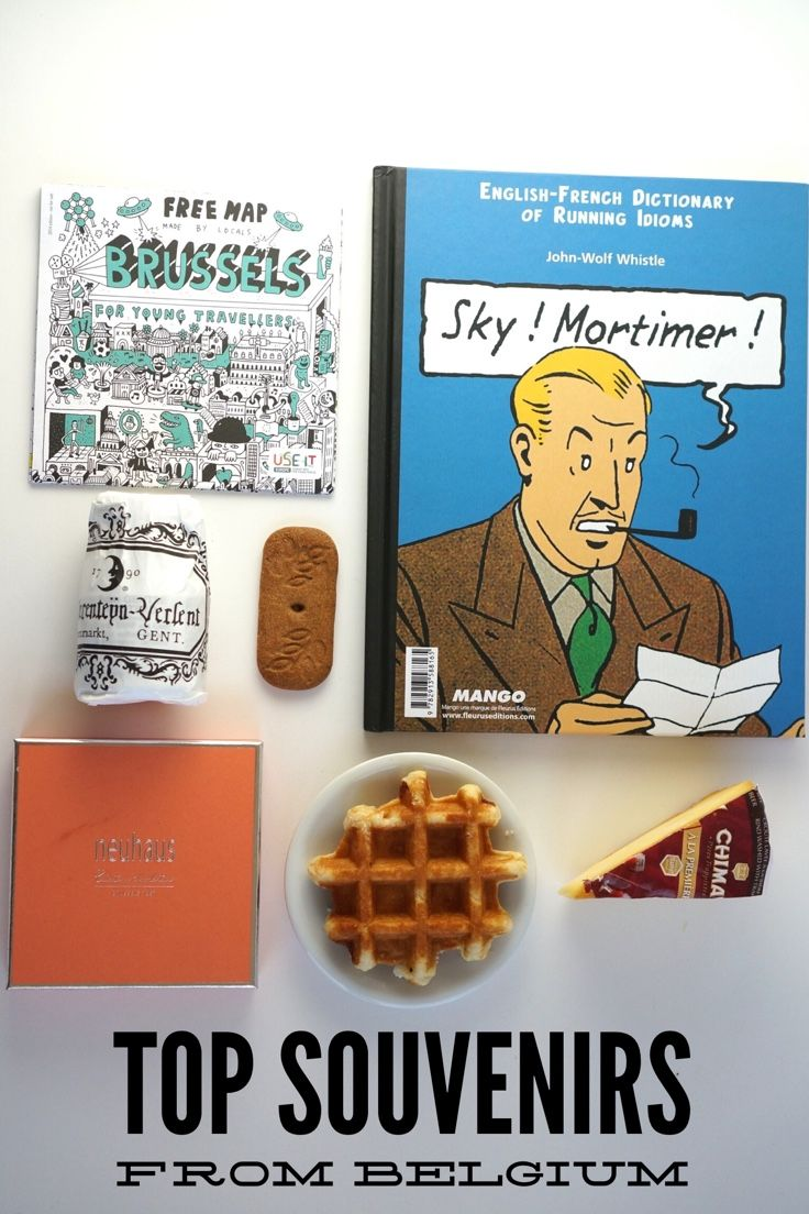 Belgium is a surprising source of fantastic souvenirs. Top Belgian souvenirs include a classic comic, Belgian chocolate, cheese made from local beer, Ghent mustard, cuberdons and more!