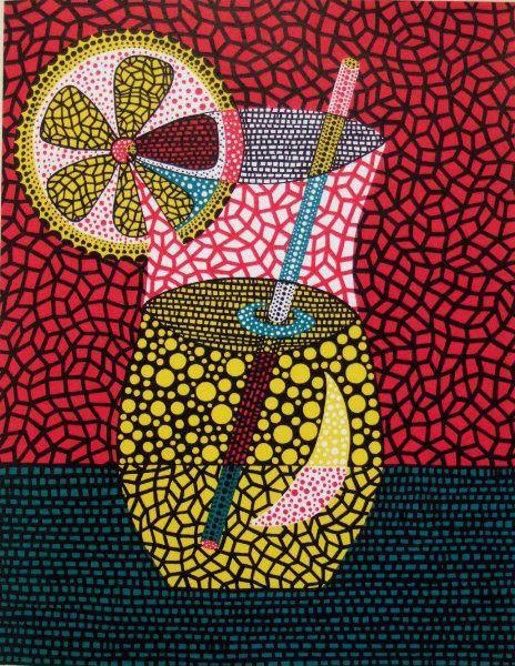 Yayoi Kusama, Lemonade, 2000