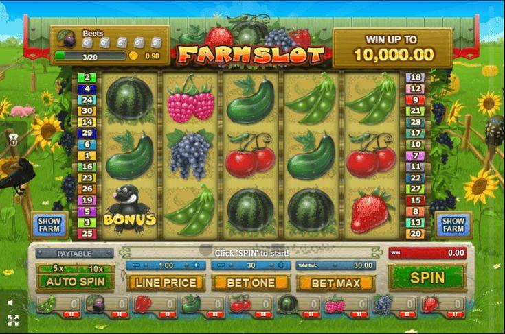 Farm Slot - http://777-casino-spiele.com/spielautomat-farm-slot-online-kostenlos-spielen/