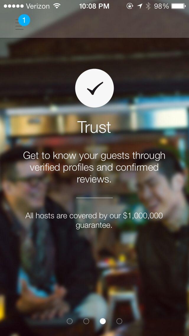 Airbnb - walkthrough & icons