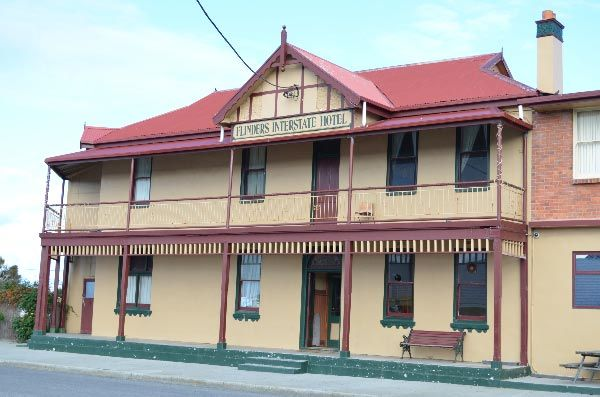 Flinders Interstate Hotel, Whitemark.  Article and photo by Roger Findlay.