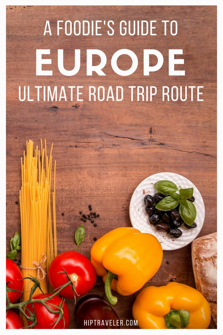 The ultimate Europe Food Tour road trip itinerary starting in Bologna, Italy and moving on to Modena, Rimini, Ferrara, Ravenna and more. Things to do + best foods and dishes to try in Italy. | Blog by HipTraveler #Italy #Europe