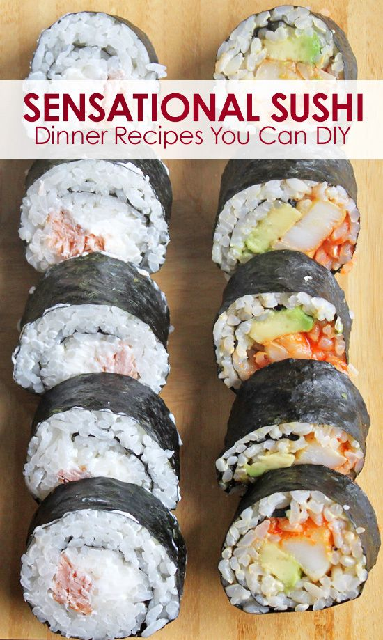 10 Sensational Sushi Recipes You Can Make at Home