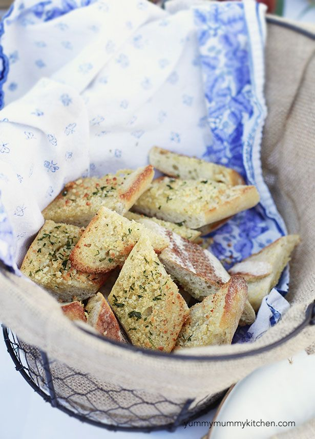Garlic Bread Recipe. Really, it is the best ever.