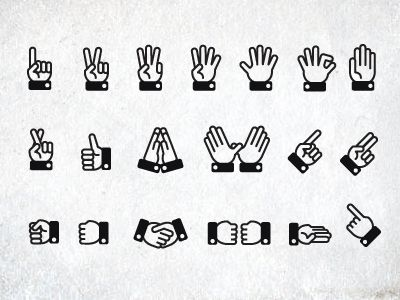 Dribbble - Hands on by Laura Bohill