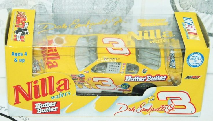 DALE EARNHARDT JR 1:64 NUTTER BUTTER MONTE CARLO CAR NASCAR TOY VEHICLE 2002 #ACTIONRACINGCOLLECTIBLES #EarnhardtJrRacing