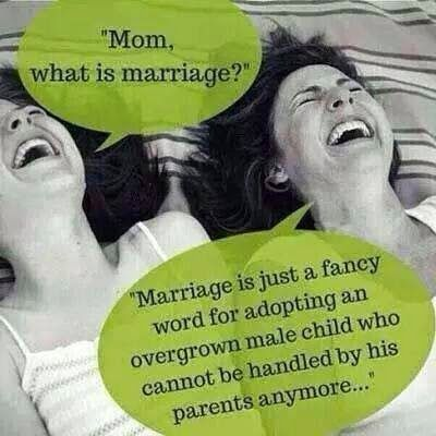 Mom, what is marriage? - Discussionist