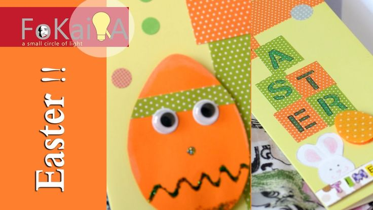 mini idea 168 | Easter greetings cards ideas and crafting bag