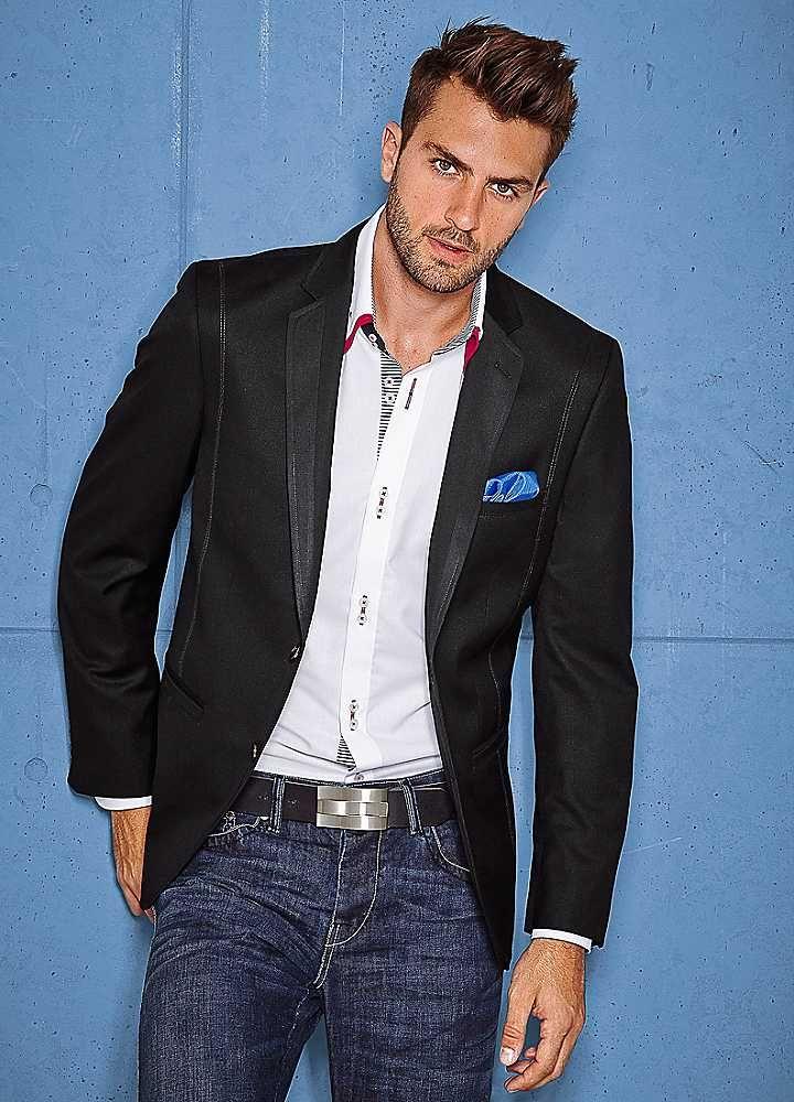 логика джинсы с пиджаком мужские фото на свадьбу отметить, что