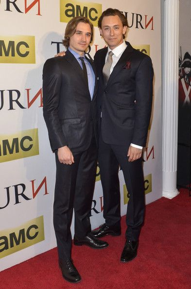 Seth Numrich and JJ Feild attend the 'Turn' series premiere at The National Archives on March 24, 2014 in Washington, DC.