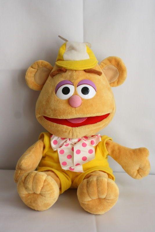 Baby Fozzie Bear Muppet Babies Velour Plush 16 Quot Stuffed