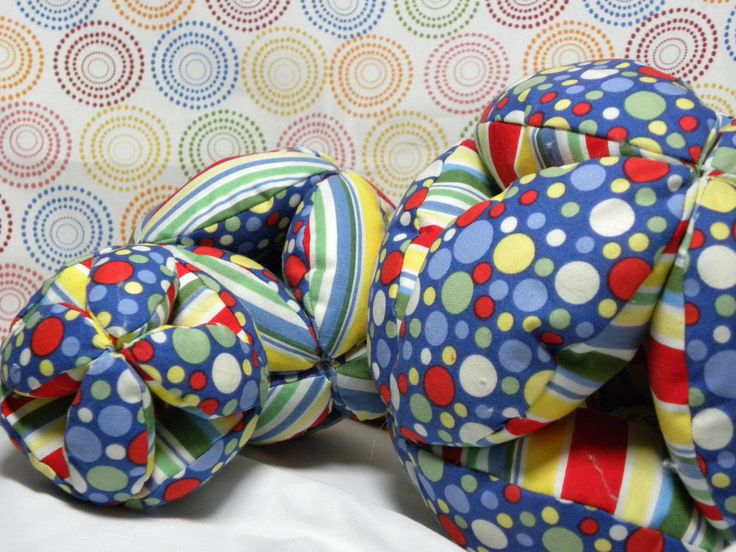Amish Puzzle Ball with printout pattern link