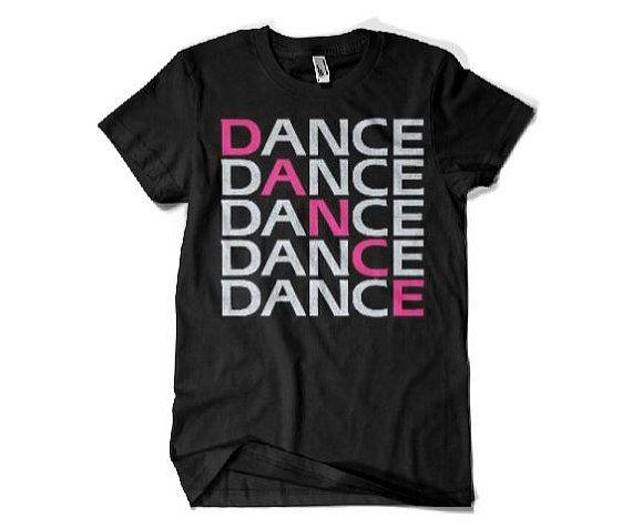 Camisetas ropa de danza danza equipo camiseta por XtremeSparkle