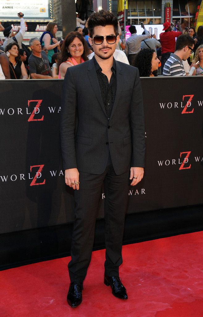 Adam Lambert - 'World War Z' Premieres in NYC — Part 2