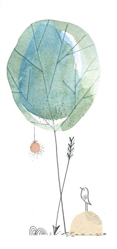 arrow aquarelle, cécile hudrisier