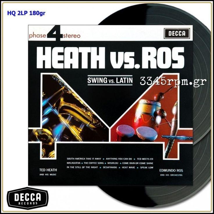 Heath Versus Ros Vol 1 & Vol 2 - Vinyl 2LP 180gr & MP3