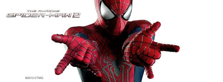 THE AMAZING SPIDER-MAN 2 : Première bannière du film de Marc Webb. Sortie 30.04.2014 #LBDC #TASM2