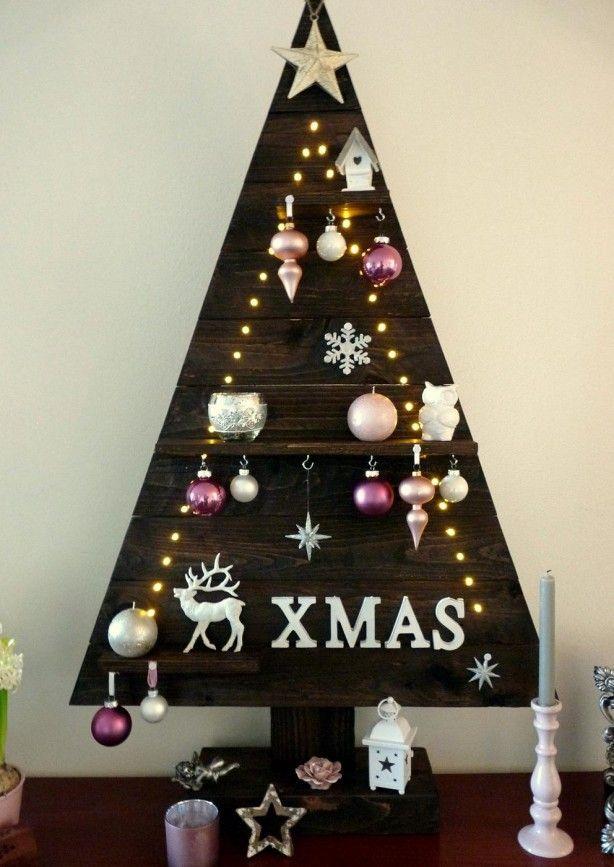 Houten kerstboom gemaakt van een pallet christmas pinterest foto 39 s en palleten - Foto houten pallet ...