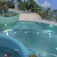 ПРОЕКТ БАССЕЙНА «ТРОПИЧЕСКИЙ РАЙ», МОСКВА, 2010 Это самый масштабный проект, в котором мы принимали участие. Дизайн помещения  бассейна мы разрабатывали... #мозаика #бассейн #хаммам #дизайн #панно