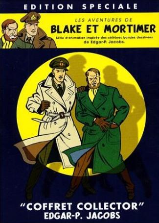 90 - Blake y Mortimer es una serie de historietas creada por el historietista belga Edgar P. Jacobs. Apareció por primera vez en la revista Tintín el 5 de septiembre de 1946. Tras la muerte de Jacobs, en 1987, la aventura inconclusa Las tres fórmulas del profesor Sato fue dibujada, con guiones de Jacobs, por Bob de Moor. Después, la serie ha sido continuada por otros autores, y continúa publicándose en la actualidad.