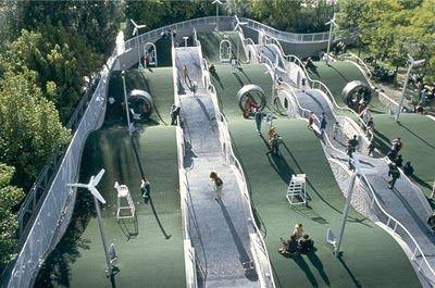 Le Jardin des Dunes, Parc de la Villette, Paris