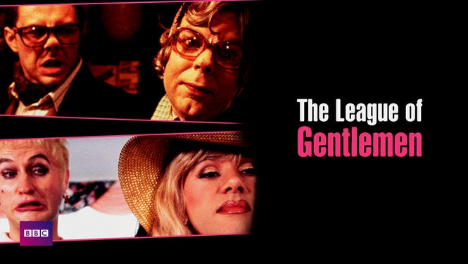"""The League of Gentlemen -- """"Get a whopping dose of dark humor down in the hamlet of Royston Vasey in this outrageously macabre sketch comedy/sitcom hybrid, which showcases a three-man comedy troupe portraying dozens of peculiar characters who call the village home."""""""