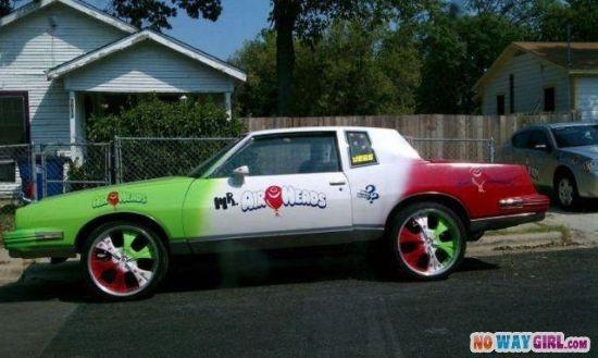 Airheads Candy Car