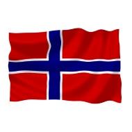 Design: Norwegen Flagge