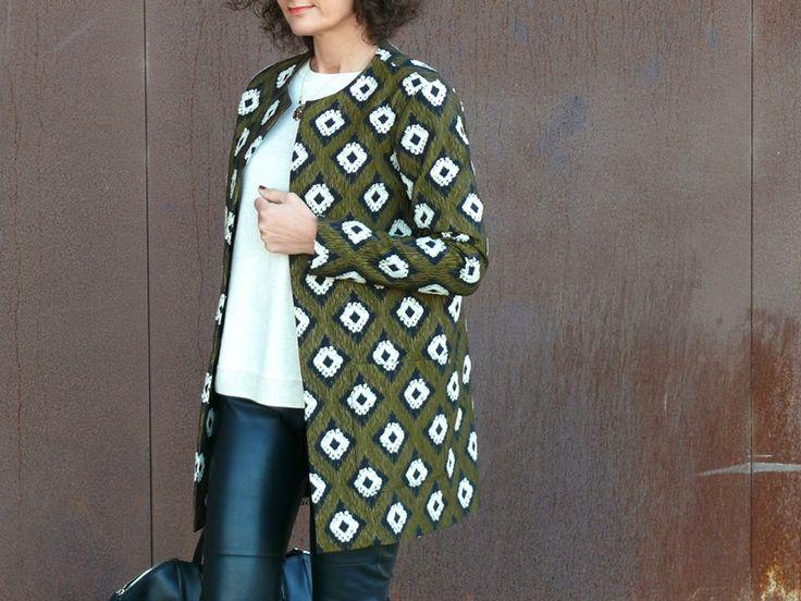 Veste Burda Couture facile automne hiver 2015