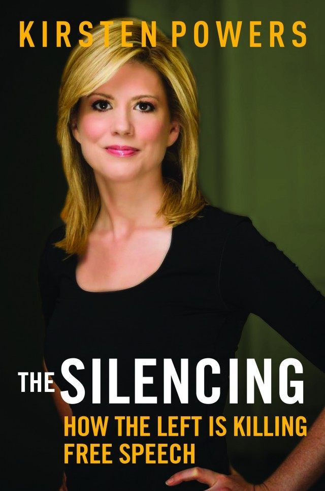 """249 26 103 The-Silencing-Powers-Cover Regnery by John Sexton24 May 2015191 Kirsten Powers' new book The Silencing: How the Left is Killing Free Speech surveys the political landscape of the past couple years and finds something new to worry about. A self-described liberal, Powers writes that the """"illiberal left"""" is trying to dominate the discussion on campus, online and in the media through intimidation. In our discussion, Powers suggests there is an authoritarian impulse at play, one that…"""