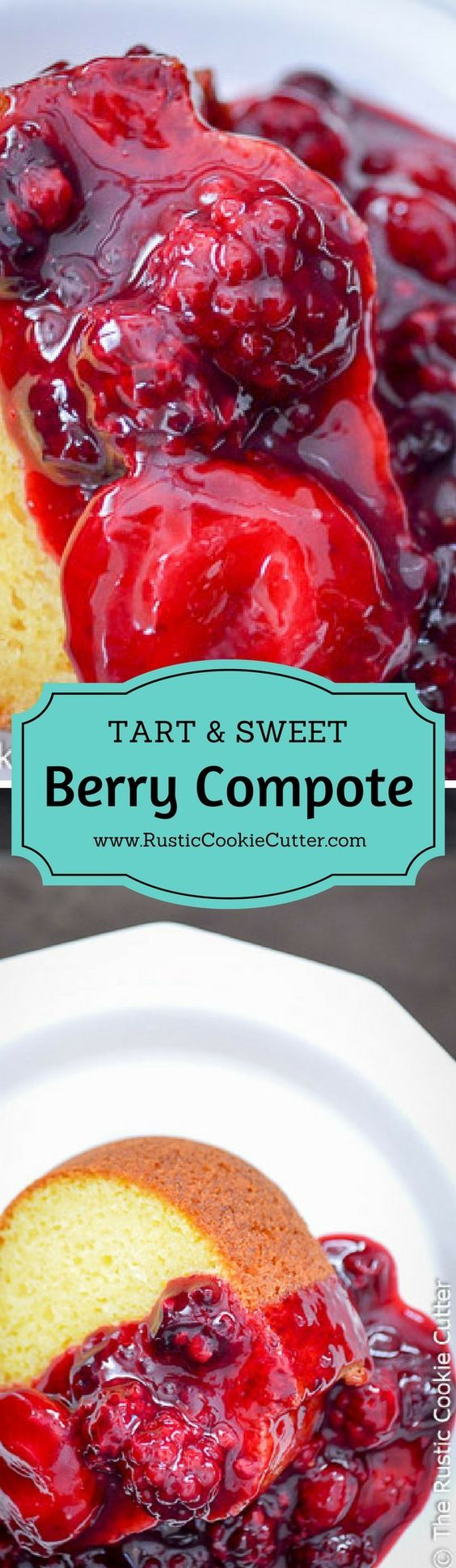 How to Make Super Easy Triple Berry Compote - What a simple, delicious spring recipe for those sweet berries! It's good on so many different things! Cake, ice cream, pie, pancakes, the options are deliciously endless!