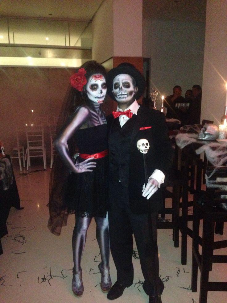 Catrina costume couple nice More